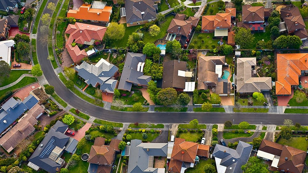 Why did the property market defy grim predictions of a crash?